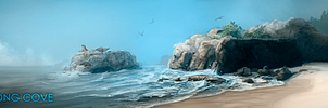 WWS : Sirensong Cove banner by OnyxSerpent
