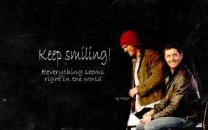 Keep smiling by MayaSPN