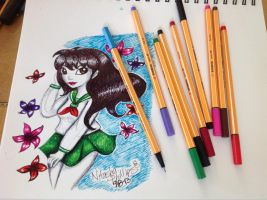 Kagome WIP by Tanis711