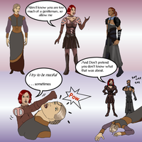 Dragon Age Outtake No.4 by littlegoblet