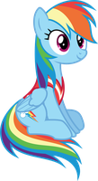[Vector] Rainbow Dash #2 by DerAtrox