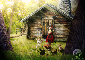 Red Riding Hood by AnBAD