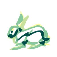 Brush Rabbit by soluble-hermit