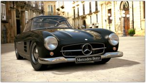 1954 Mercedes-Benz 300SL Gullwing (Gran Turismo 6) by Vertualissimo