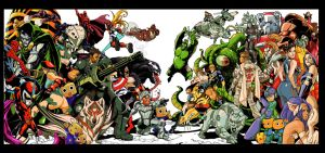 Marvel vs capcom by tonytorrid