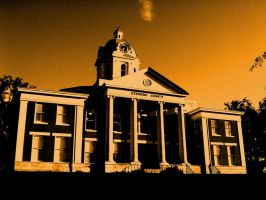 Stephens County Courthouse by thegreatwolfsage