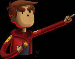 Danny Bravest Warriors by AzZzAeLL