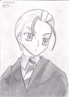 Draco Malfoy Manga Style by Sailor-Aria