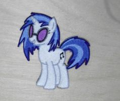 DJ Pon3 Embrodered Patch by EthePony