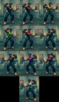 USFIV Dhalsim Yoga Gym Instructor 10 color pack by monkeygigabuster