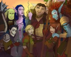 Horde Team Portrait by Casicko