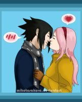SasuSaku  Warm kiss by MikotoSakura