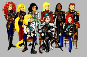 Nine Sovereigns by TheQueenOfManga