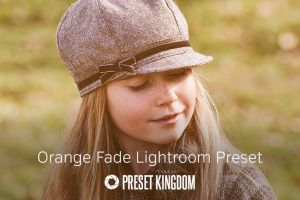 Free Orange Fade Lightroom Preset by presetkingdom