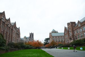 University of Washington campus by ShannonCPhotography