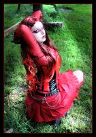 Lady In Red 6 by LadyDeathDemon