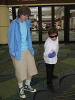 Megacon 09-  Dexter meet Dex by Prota-Girl