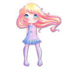 Sweet Peaches Chibi Adoptable [OPEN] by Deboned