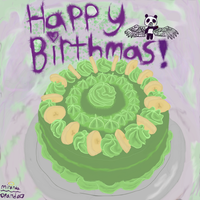 HAPPY BIRTHMAS by Pandasrcute2