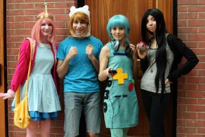 Adventure Time Group Cosplay by lulutetium