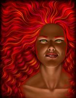 Fire - All that is Red by Ingvild-S