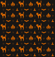 Halloween Pattern by mute-owl