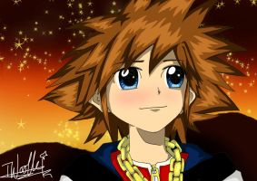 Sora- Stargazing is Fun x by izzycool91
