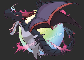 Mega Aerodactyl (FAN-MADE) by Dragonith