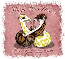 Hugs and Hisses Ball Pythons by NadilynBeato