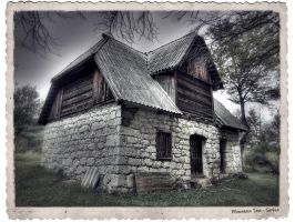 "Old mount house ""Sokolica"" by Neshom"