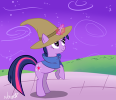Black Mage Twilight Sparkle by lostallreason