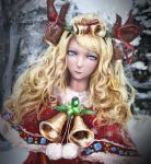Christmas Maiden by Cabulb