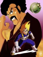 The World's Strongest Vs The Prince Of All Saiyans by jeffreymunoz