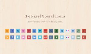 Social Media Icons Set by elemis