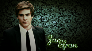 Zac Efron Wallpaper by The-Light-Source