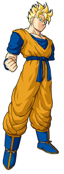 Future Gohan - No Arm EDIT by davepaton