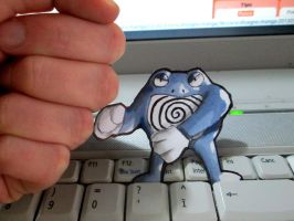 Paperchild 128. Pokemon#62 - Poliwrath by FuriarossaAndMimma
