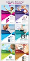 Multipurpose Business Flyer, Magazine Ad by RedEffect7