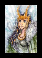 Lady Loki by Kiriska