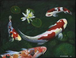 Koi Fish by mnabordesign