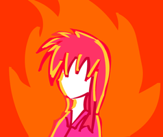 Fire Girl by Impendidngdoom46
