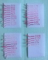 Pink - Thread Swatches by tiffanycasacop