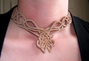 Celtic Knotwork Necklace- worn by Adreanna