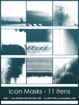 Icon Masks by ivy-poison