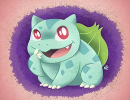 bulbasaur paint by mirandajane