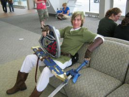 Link Chillin by Ivory-Bloodrose