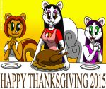 Happy Thanksgiving 2015 by CaseyDecker
