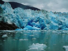 South Sawyer Glacier, AK by bootlacephotography