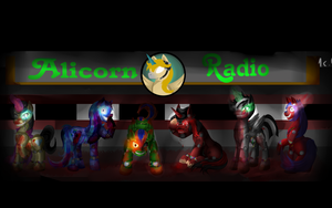 Five Nigths At ALicornRadio background by 11newells