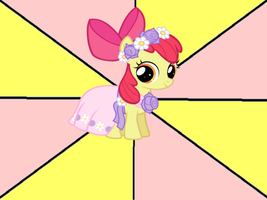 Flower Girl Apple Bloom meme by snakeman1992